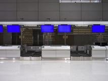 Крупный аэропорт 2 Narita в ноче Стоковые Изображения