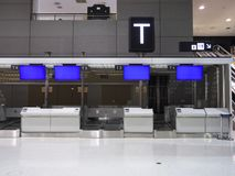 Крупный аэропорт 2 Narita в ноче Стоковые Фотографии RF