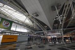 Крупный аэропорт Oporto, Португалия Стоковое фото RF