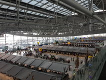 Крупный аэропорт Suvarnabhumi Стоковые Фото