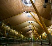 Крупный аэропорт, T4 Мадрид Стоковые Изображения