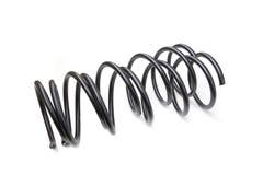 Крупный план автомобиля амортизатора удара весны Стоковое Изображение RF