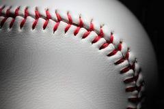 крупный план бейсбола Стоковое Изображение