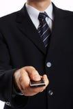 крупный план бизнесмена стоковые изображения rf
