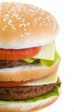 крупный план бургера Стоковое фото RF