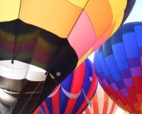 крупный план воздушных шаров горячий стоковая фотография