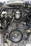 Крупный план двигателя стоковое изображение