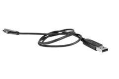 Крупный план кабеля Usb Стоковая Фотография RF