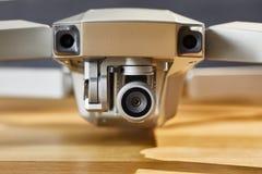 Крупный план камеры трутня Стоковое фото RF