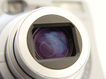 крупный план камеры len Стоковое Изображение RF
