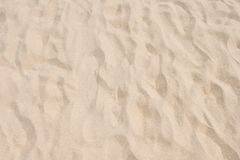 Крупный план картины песка пляжа в лете Стоковое фото RF