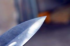 Крупный план лезвия Стоковая Фотография RF