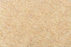 Крупный план листа картона Брайна Стоковые Фотографии RF