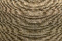 Крупный план макроса цимбалы барабанчика Стоковые Изображения RF