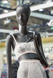 Крупный план манекена женское бельё Стоковые Фото
