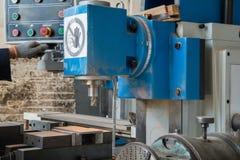 Крупный план машины сверла стоковые фотографии rf