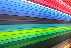 Крупный план направляющего выступа цвета Стоковая Фотография RF