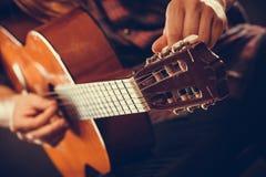 Крупный план на музыкальном инструменте Стоковые Изображения RF