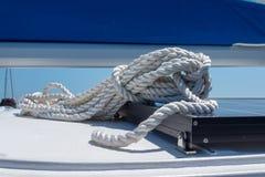 Крупный план на плавать веревочка стоковая фотография
