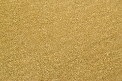 Крупный план песка пляжа Стоковая Фотография