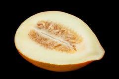 Крупный план плода дыни сладкий стоковое фото rf