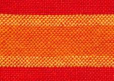 Крупный план сплетенной ткани Стоковое Изображение