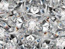 Крупный план структуры диаманта весьма с влиянием калейдоскопа Стоковое Изображение RF