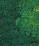 Крупный план - часть картины маслом Стоковая Фотография
