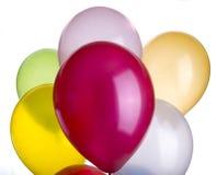 крупный план ballons живой стоковое изображение rf