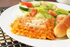 Крупный план Lasagna Стоковые Изображения