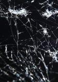 Крупный план smartphone сломленного экрана передвижной стоковое изображение rf