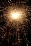Крупный план Sparkler Стоковая Фотография