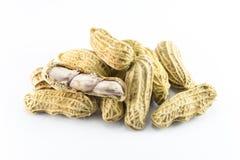Крупный план арахисов Стоковая Фотография