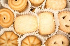 Крупный план датских печений Стоковые Фото