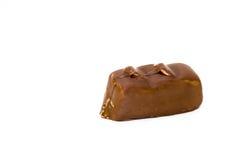 Крупный план адвокатского сословия шоколада изолированный на белизне Стоковые Изображения