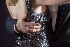 Крупный план бальных танцев Стоковые Фото