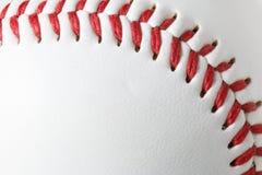Крупный план бейсбола Стоковая Фотография