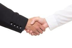 Крупный план бизнесменов тряся руки Стоковая Фотография RF