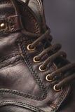 Крупный план ботинка людей Стоковые Фотографии RF