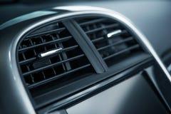 Крупный план вентиляционного отверстия автомобиля стоковое изображение