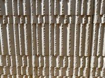 Крупный план вертикали каменной стены Стоковое Изображение