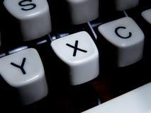 Крупный план винтажного ключа машинки x Стоковые Изображения RF