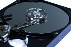 Крупный план внутренние жесткие диски Стоковые Изображения