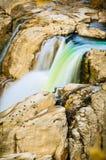 Крупный план водопада стоковое фото