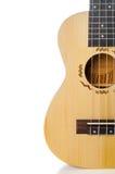 Крупный план гитары гавайской гитары Стоковая Фотография RF