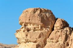 Крупный план горной породы в Ain Khudra Стоковые Фото