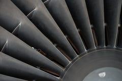 Крупный план лезвий турбины Стоковое Изображение RF