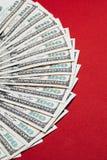Крупный план денег Стоковое Изображение RF