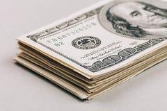 Крупный план денег Стоковое Изображение