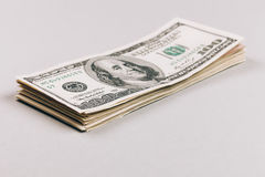 Крупный план денег Стоковое Фото